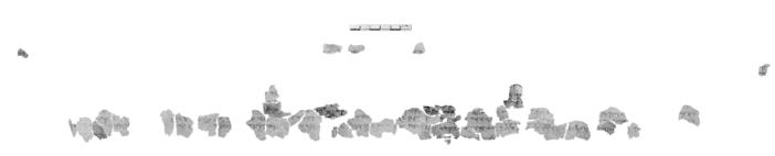 The newly decoded Dead Sea Scroll is in 62 tiny pieces. <cite>University of Haifa</cite>