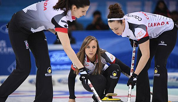 Curling: 16. WM-Gold für Kanadas Curling-Damen