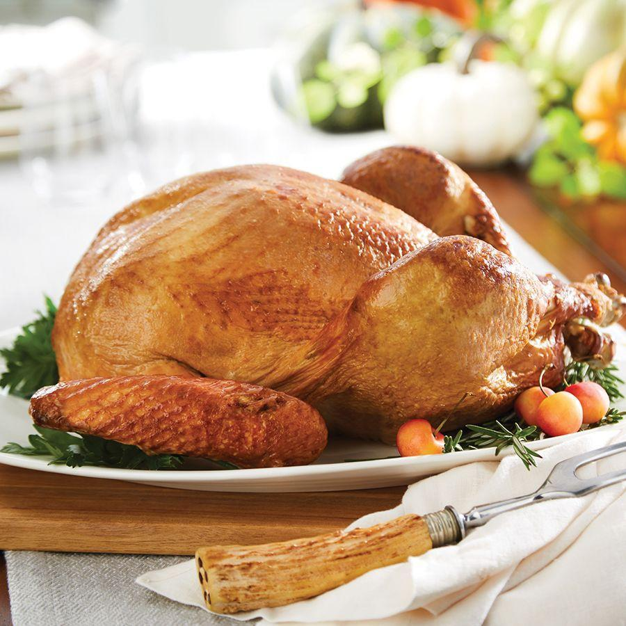 """<p><strong>HoneyBaked</strong></p><p>honeybaked.com</p><p><strong>$55.95</strong></p><p><a href=""""https://shipping.honeybaked.com/Whole-Turkey"""" rel=""""nofollow noopener"""" target=""""_blank"""" data-ylk=""""slk:Shop Now"""" class=""""link rapid-noclick-resp"""">Shop Now</a></p><p>Yes, """"ham"""" is in the store's name, but The HoneyBaked Ham Co. offers preco</p>"""
