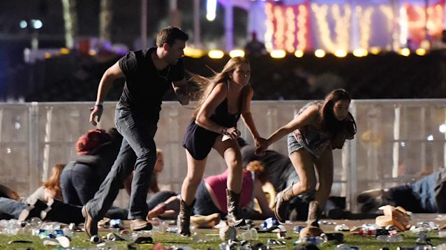 On Sunday night, a man opened fire on a crowd of concertgoers in Las Vegas, killing at least 58 people and wounding more than 500.