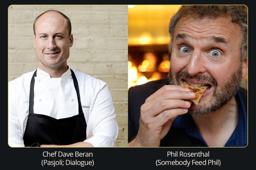 "Dave Beran and Phil Rosenthal will take part in the Nov. 8 Los Angeles Times Dinner Series. <span class=""copyright"">(Los Angeles Times)</span>"
