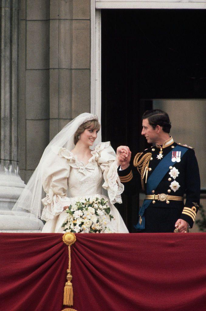 <p>The large puffy sleeves on Lady Diana Spencer's David and Elizabeth Emanuel wedding dress immediately reminds us of Ariel's wedding dress. The fitted bodice and full skirt are extremely similar as well.</p>
