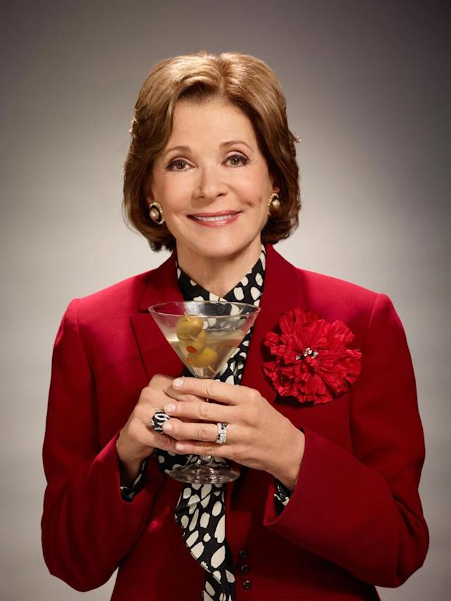 "Jessica Walter as Lucille Bluth in ""Arrested Development"" Season 4."
