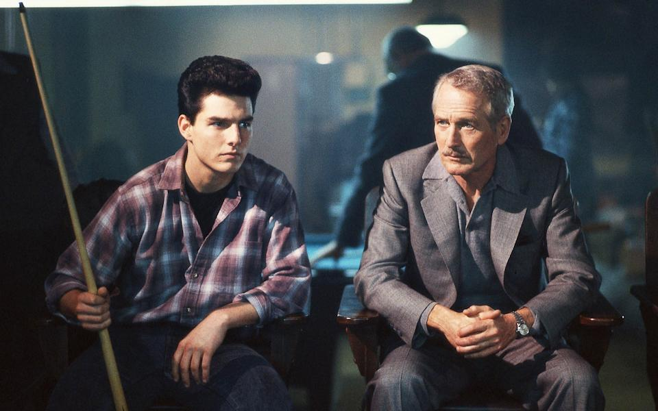 Tom Cruise and Paul Newman in The Colour of Money