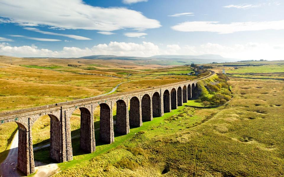 The Ribblehead Viaduct makes for an impressive sight - MNStudio/Shutterstock