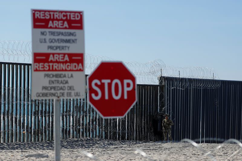 U.S. will add 500 troops at Mexico border during coronavirus pandemic - officials