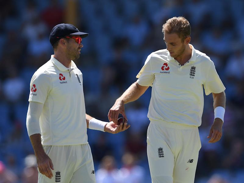 Former England captain Michael Vaughan has suggested that Stuart Broad and James Anderson should no longer play together: Getty