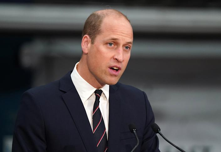 File photo dated 29/06/21 of the Duke of Cambridge who has said the