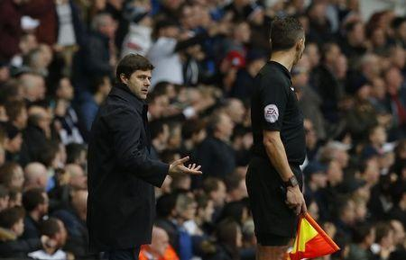 Britain Soccer Football - Tottenham Hotspur v Southampton - Premier League - White Hart Lane - 19/3/17 Tottenham manager Mauricio Pochettino  Action Images via Reuters / Andrew Couldridge Livepic