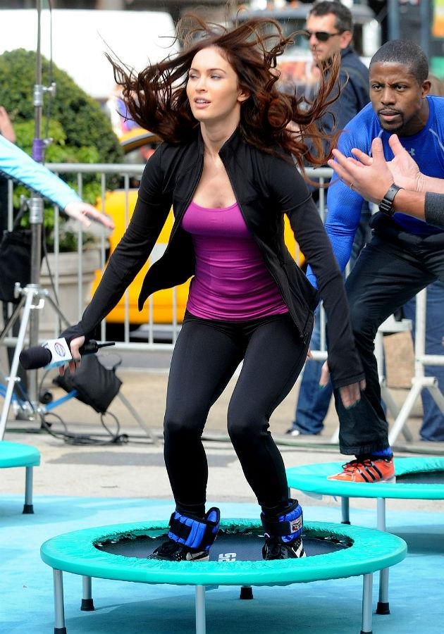 First pics of Megan Fox as April O'Neil in Teenage Mutant ...