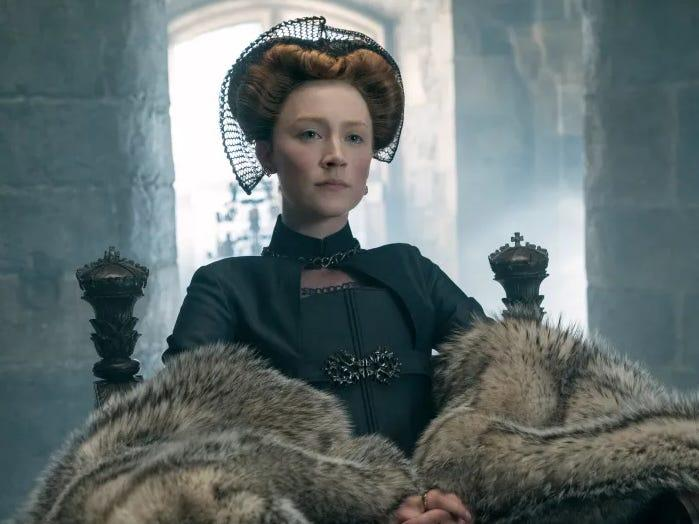 Mary Queen of Scots Saoirse