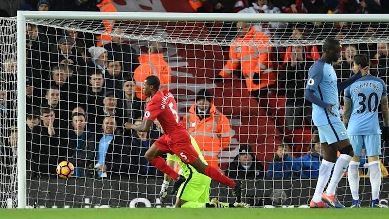 HD Gini Wijnaldum Liverpool goal v Man City