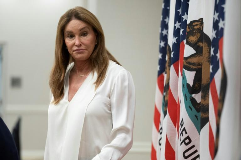 This being California, an election would not be complete without a few non-traditional candiates, among them reality TV star Caitlyn Jenner (AFP/Robyn Beck)