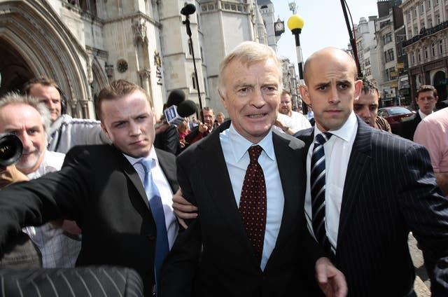 Max Mosley court case