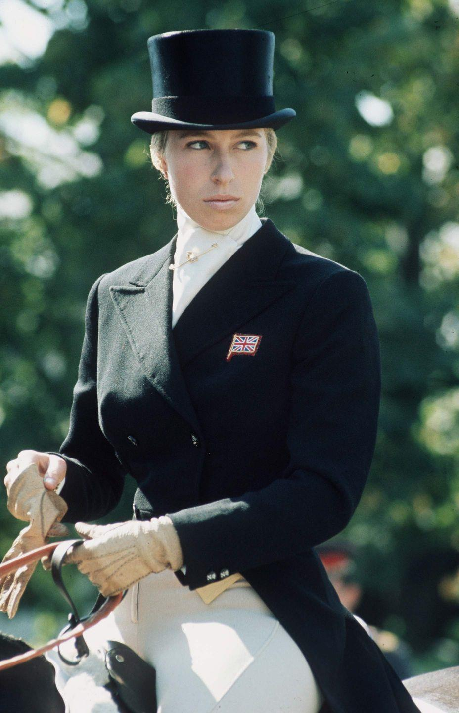 <p>Earlier generations of anglophiles and fans of the British monarchy know Princess Anne for her illustrious career as an equestrian. The princess and her father shared a love affair with horses, and she began competing at the age of 11.</p><p>In 1971, At the age of 21, Princess Anne became a European gold medal winner at the September 1971 European Eventing Championships, and subsequently BBC's Sports Personality of the Year. The following year, she became the first British royal to be selected to the Olympic team—and she was selected for the following Olympic Games in 1976. </p>