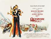 Bond took on his first female villain for another outlandish romp. It's the one with the Faberge eggs. (Eon/MGM)
