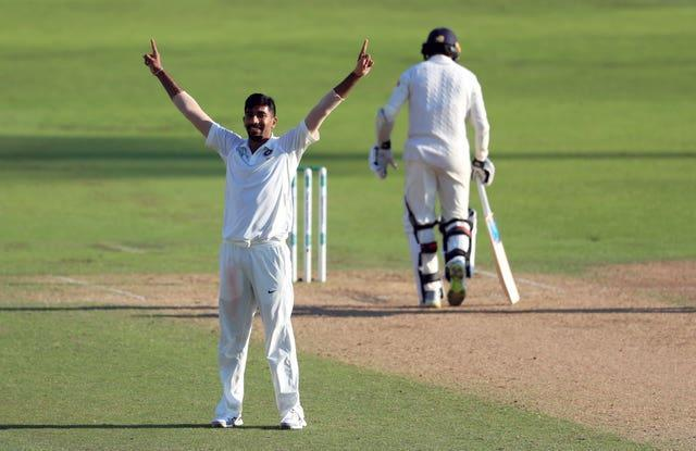 Jasprit Bumrah, left, is one of the best fast bowlers in the world (Mike Egerton/PA)