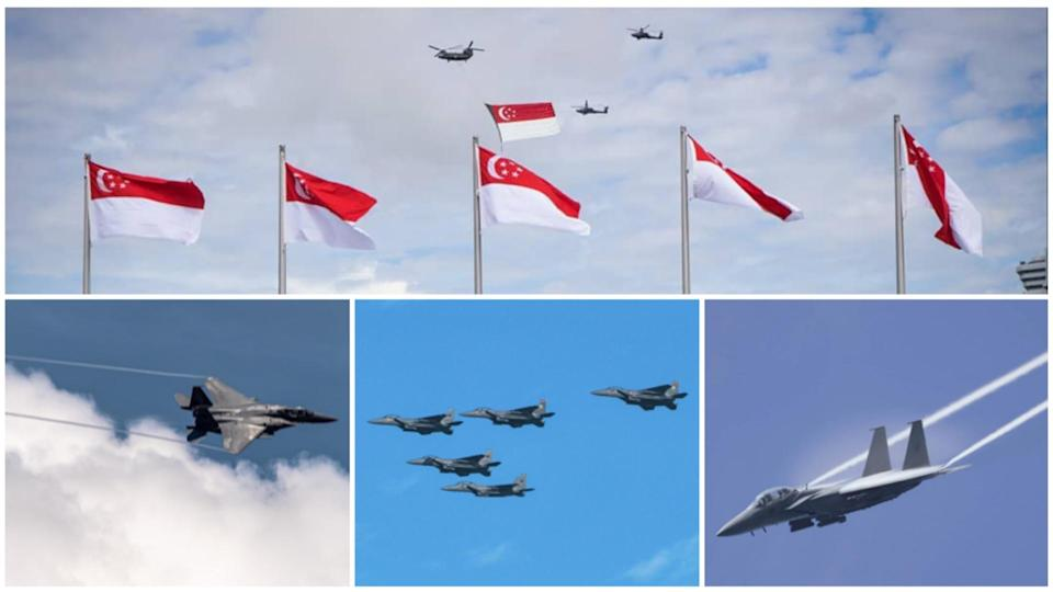 You can hear (and sometimes see) the RSAF aircraft doing their NDP rehearsals, but do you know how they protect our Little Red Dot?