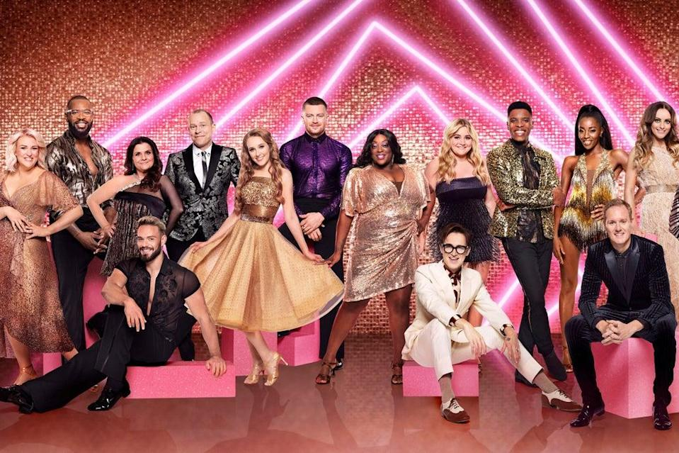 The pairings for the new series of Strictly have been announced.  (PA)