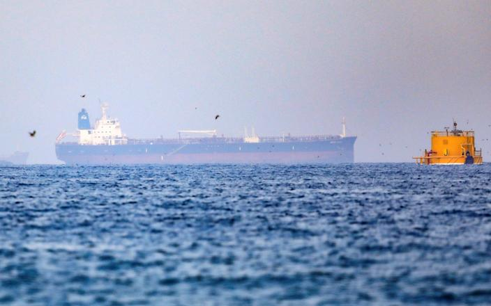 File image of the Mercer Street ship which was struck by drones five days before Tuesday night's hijacking incident involving the Asphalt Princess vessel - Rula Rouhana/REUTERS