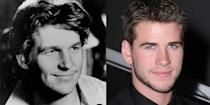 <p>While Jeff Bridges and Liam Hemsworth share a laid-back attitude, they also closely resemble one another. A young, clean-cut Bridges is the spitting image of the youngest Hemsworth brother, right down to that soft smile. </p>
