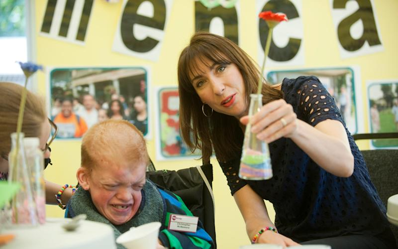 Samanthan Cameron, wife of former PM David Cameron, at a Mencap event - Paul Grover/Paul Grover