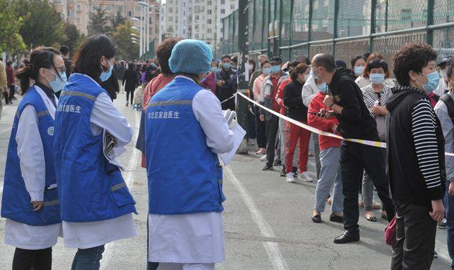 Coronavirus: China to test nine million people in just five days after 12 new cases in Qingdao city