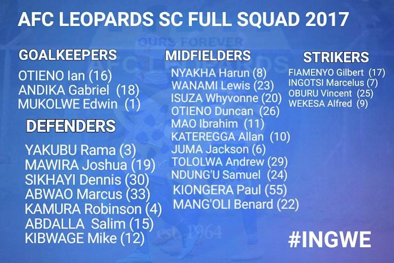 AFC Leopards team