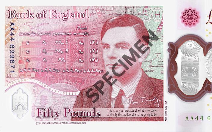 New £50 note release date 2021 old notes deadline when expire - Bank of England