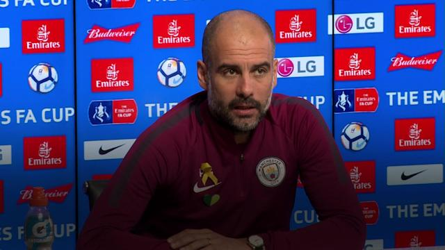 Paul Cook and Pep Guardiola preview Wigan Athletic's fifth round FA Cup clash against Manchester City - a rematch of the famous 2013 final.