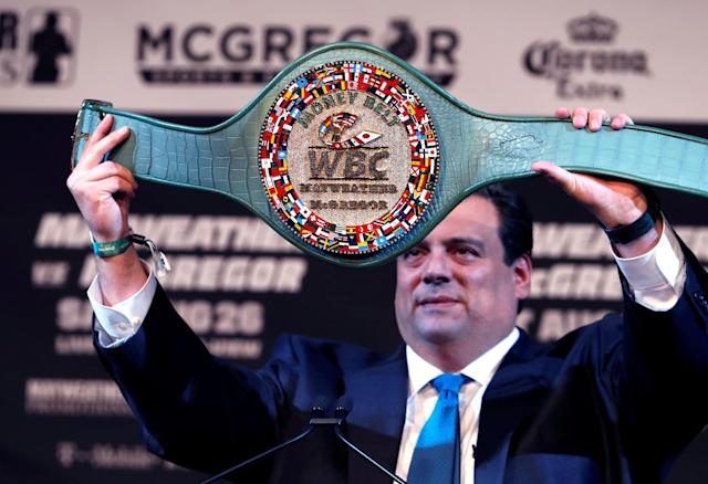Don't look directly at the Money Belt. (Reuters)