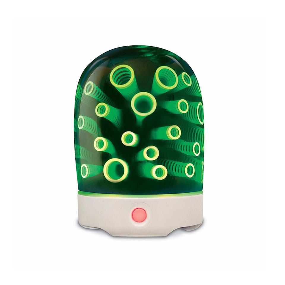 "<p>GuruNanda Magic Ultrasonic Essential Oil Diffuser comes with two oils. When turned on, it resembles a modern-day lava lamp in the best way.</p> <p>($20; <a href=""https://www.gurunanda.com/products/gurunanda-magic-ultrasonic-essential-oil-diffuser"" target=""_blank"">gurunanda.com</a>)</p>"