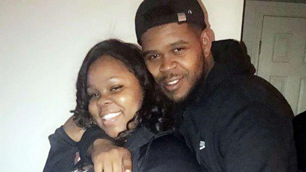 PHOTO: Breonna Taylor and Kenneth Walker embrace in an undated family photo. (Velicia Walker)
