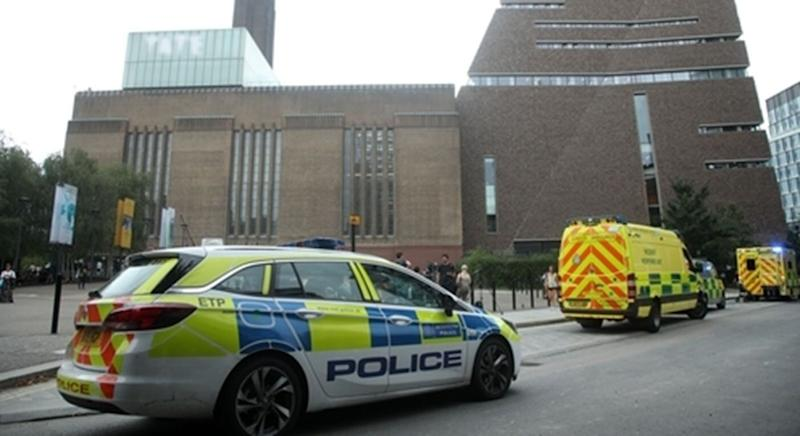 The little boy was allegedly thrown from a viewing platform at the Tate Modern art gallery  (Photo: PA Media: UK News)
