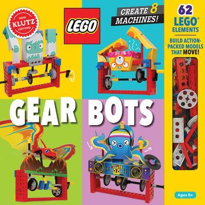 Introducing the next LEGO STEM kit from Klutz! Build 8 physics-driven kinetic creatures with LEGO Gear Bots. Each model includes a papercraft character that you fold and link with LEGO elements.