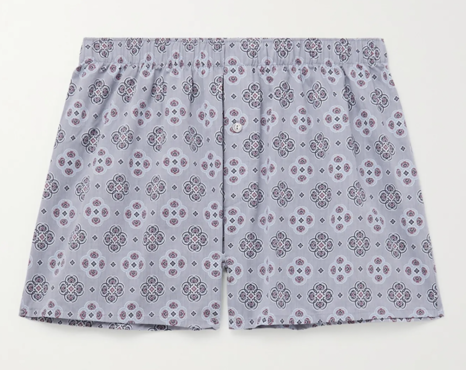 pattern boxers high end