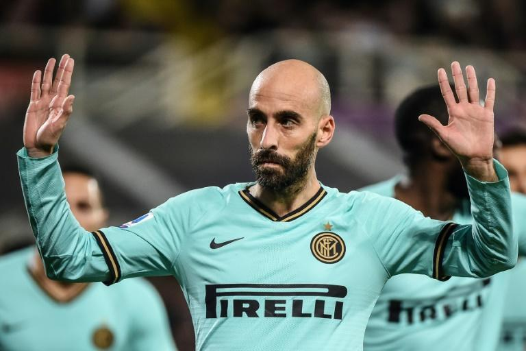 Inter Milan midfielder Borja Valero scored against his former club Fiorentina
