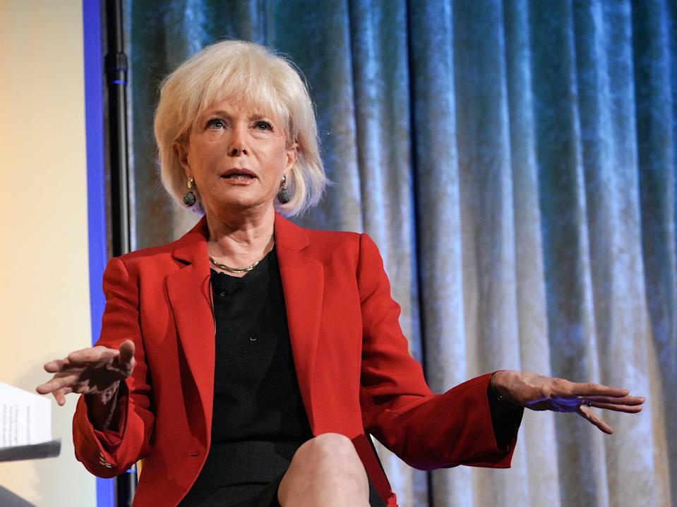 Lesley Stahl has become the latest journalist to face attacks from President Donald Trump online (Getty Images for Student Leaders)