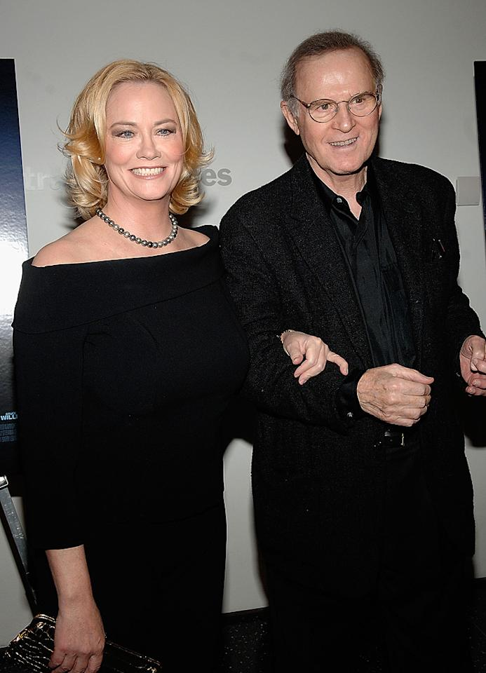 """<a href=""""http://movies.yahoo.com/movie/contributor/1800025034"""">Cybill Shepherd</a> and <a href=""""http://movies.yahoo.com/movie/contributor/1800010490"""">Charles Grodin</a> at the New York premiere of <a href=""""http://movies.yahoo.com/movie/1809739709/info"""">What Just Happened</a> - 10/01/2008"""