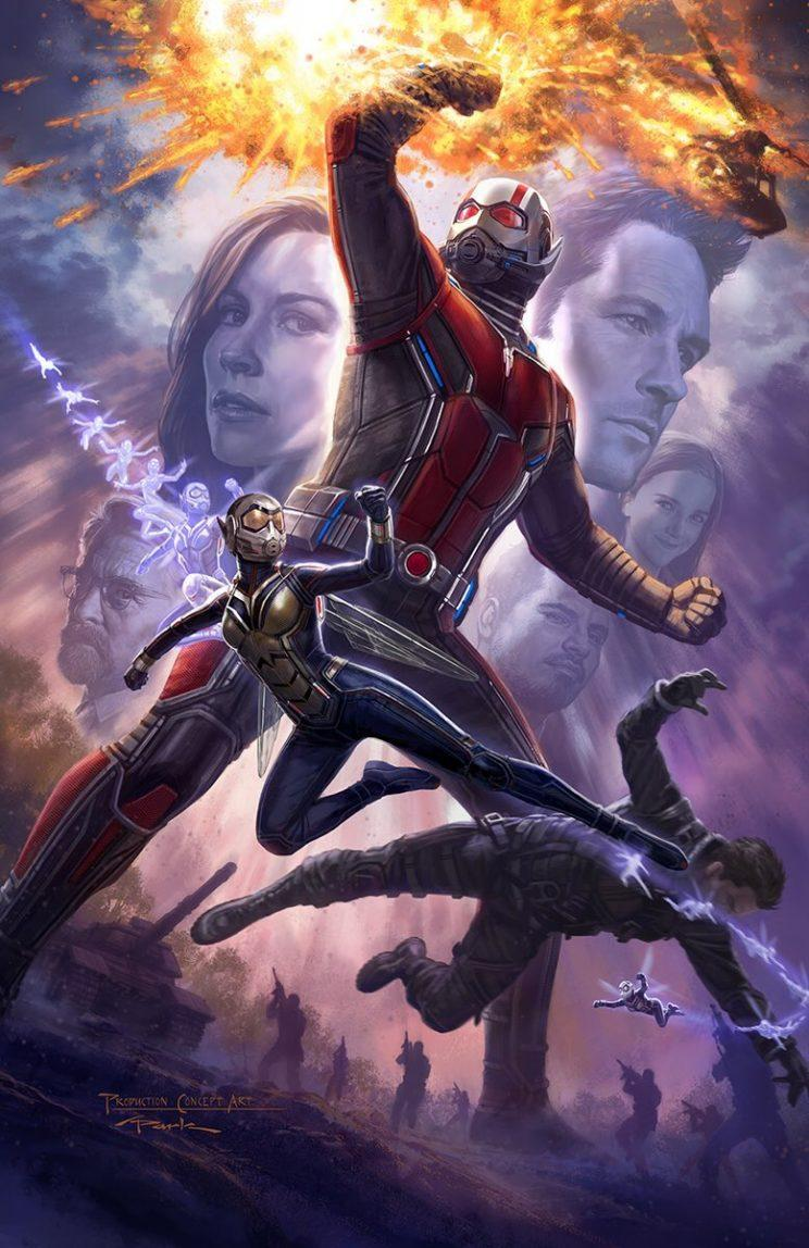 Ant-Man and The Wasp gets a super-sized new poster - Credit: Marvel