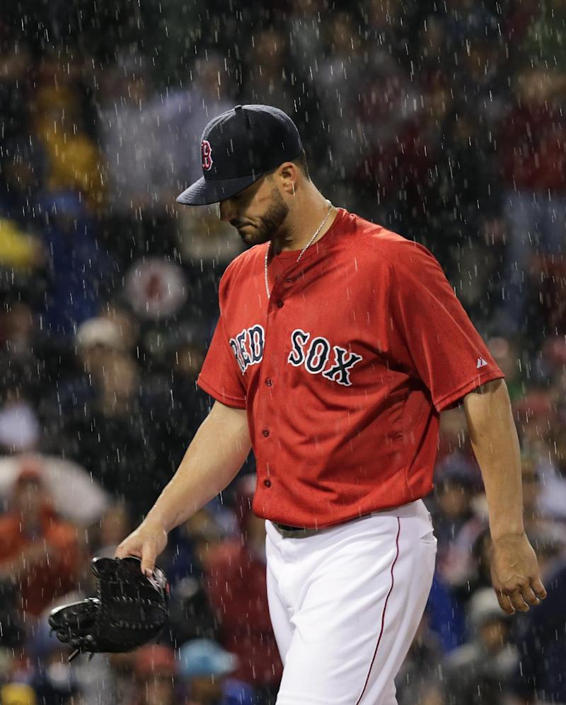 Red Sox pitcher Workman appeals 6-game suspension