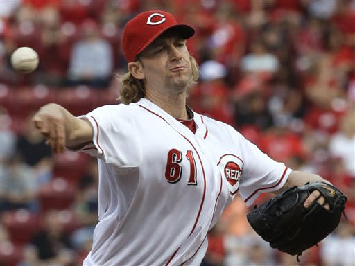 Bruce homers as Reds beat Rockies 3-0