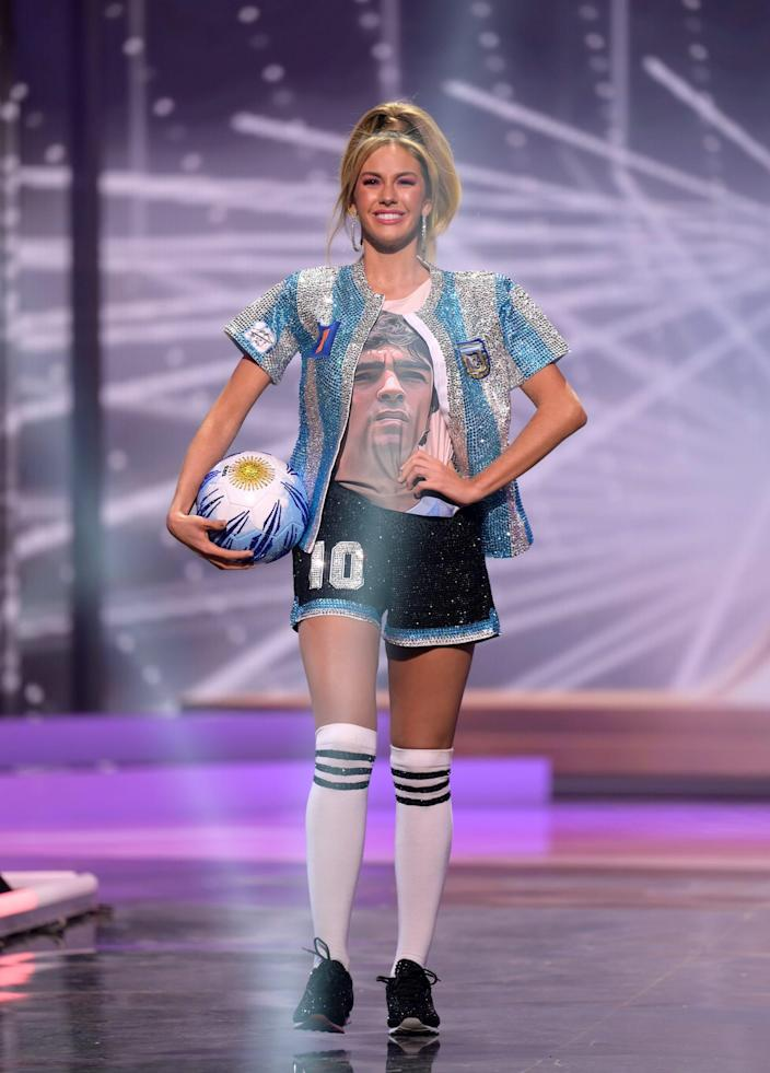 Miss Argentina National Costume Show 2021