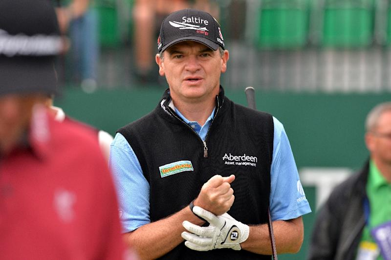 scotland u0026 39 s lawrie takes outright lead at british open