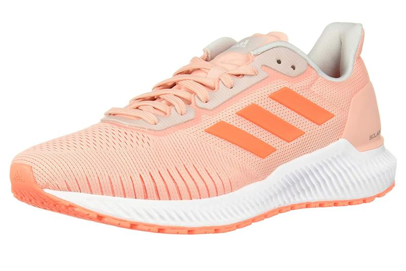 Adidas Solar Ride, coral running shoes