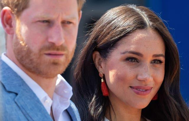 Harry and Meghan have been living in America for almost a year after stepping down as senior royals. Dominic Lipinski/PA Wire