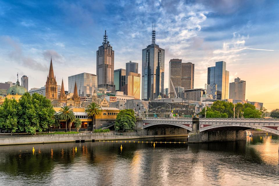 """Sophisticated, stylish, free-spirited: <a href=""""https://www.cntraveler.com/destinations/melbourne?mbid=synd_yahoo_rss"""" rel=""""nofollow noopener"""" target=""""_blank"""" data-ylk=""""slk:Melbourne"""" class=""""link rapid-noclick-resp"""">Melbourne</a> has all of Australia's best personality traits. There's more risk-taking and art-making in Oz's second-biggest city—and arguably the cultural capital of the country—so the ideal trip samples a little bit of everything. Whether you're sampling some world-class art, famous coffee, or legendary beaches, you're sure to rub elbows with a diverse group of residents ready to chat you up or give personal recommendations."""