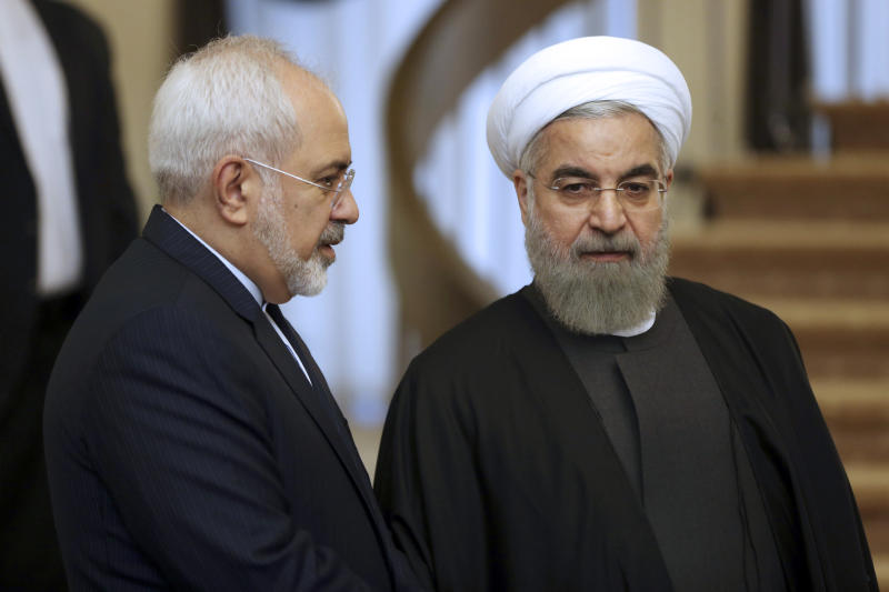 Rouhani arrives for first official visit to Iraq