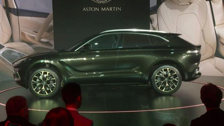 Aston Martin, da James Bond al suo primo Suv presentato in Cina