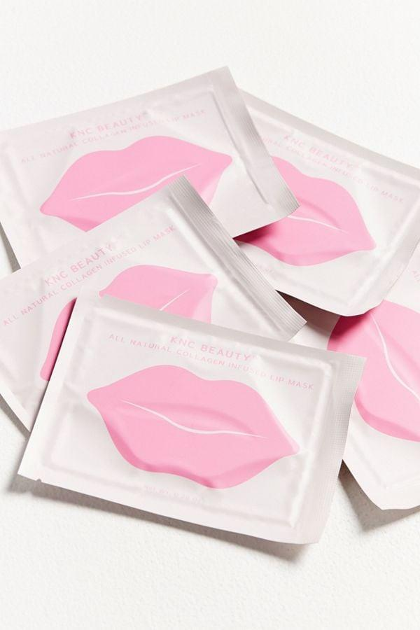 """<p>This <a href=""""https://www.popsugar.com/buy/KNC-Beauty-Lip-Mask-5-Pack-Set-495987?p_name=KNC%20Beauty%20Lip%20Mask%205-Pack%20Set&retailer=urbanoutfitters.com&pid=495987&price=25&evar1=tres%3Aus&evar9=46695667&evar98=https%3A%2F%2Fwww.popsugar.com%2Fphoto-gallery%2F46695667%2Fimage%2F46695677%2FKNC-Beauty-Lip-Mask-5-Pack-Set&list1=shopping%2Cgifts%2Curban%20outfitters%2Cgift%20guide%2Cgifts%20for%20her&prop13=api&pdata=1"""" rel=""""nofollow"""" data-shoppable-link=""""1"""" target=""""_blank"""" class=""""ga-track"""" data-ga-category=""""Related"""" data-ga-label=""""https://www.urbanoutfitters.com/shop/knc-beauty-lip-mask-5-pack-set?category=SEARCHRESULTS&amp;color=000"""" data-ga-action=""""In-Line Links"""">KNC Beauty Lip Mask 5-Pack Set</a> ($25) is really moisturizing, and perfect Instagram-bait.</p>"""